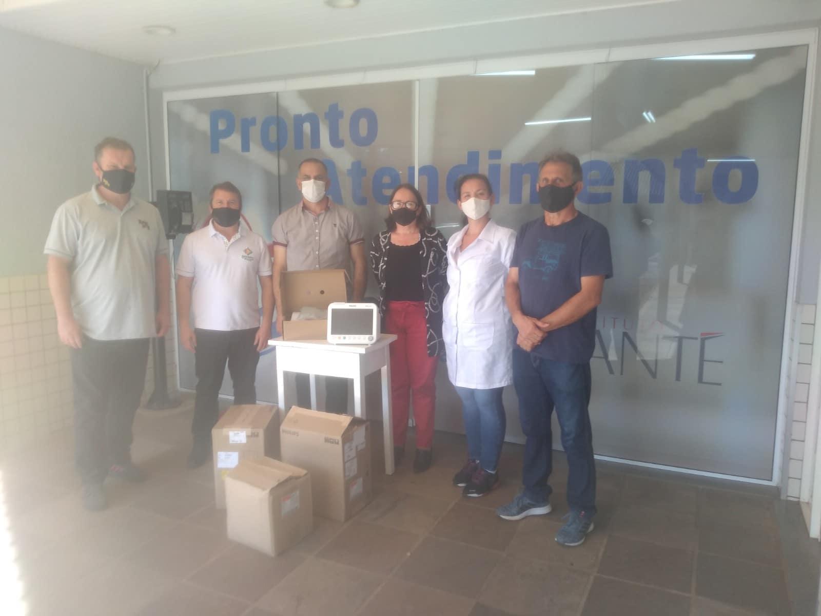 Assemit doa equipamentos ao Hospital Sagrada Família de Itapiranga