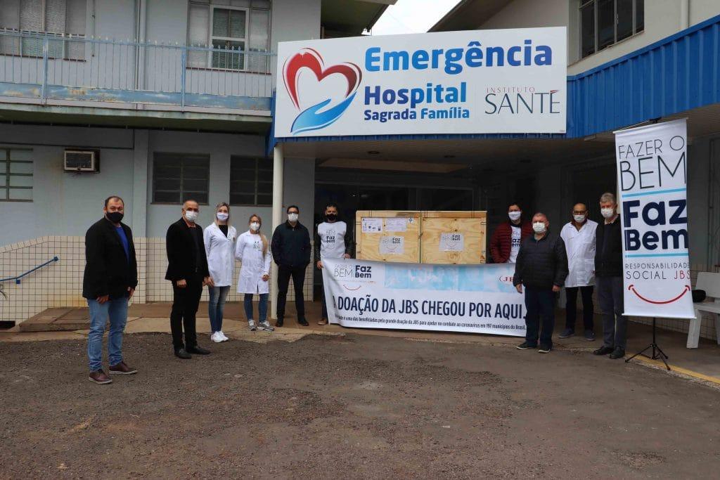 JBS de Itapiranga doa raio-x móvel ao Hospital Sagrada Família – Instituto Santé