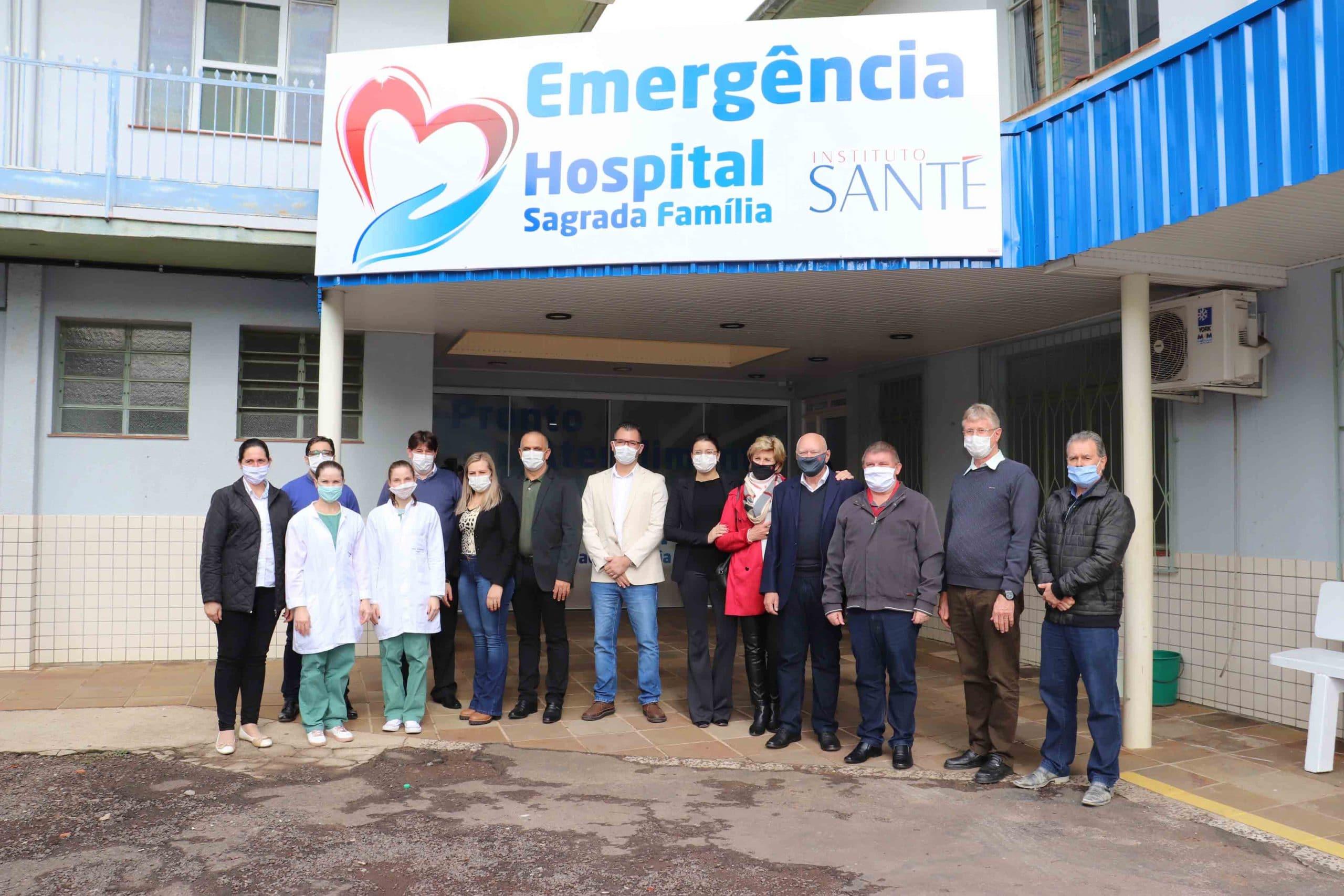 Santé assume a administração do Hospital Sagrada Família de Itapiranga