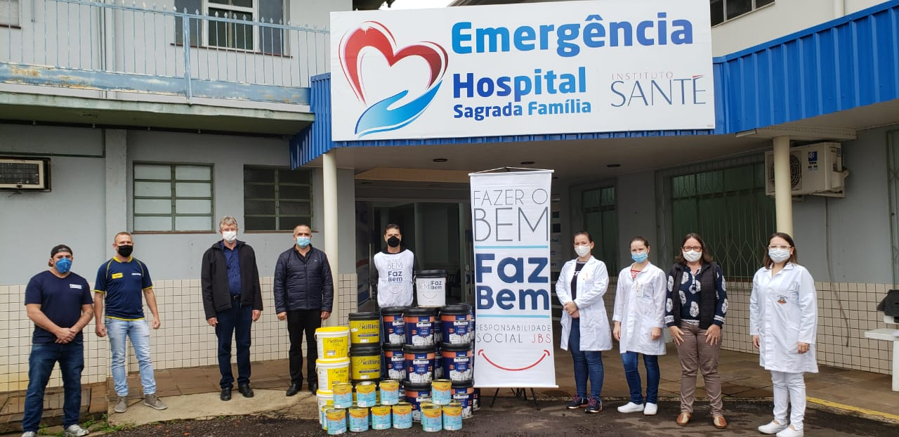 JBS entrega novas doações ao Hospital de Itapiranga