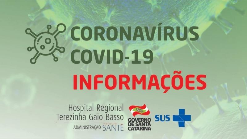 Hospital Regional de São Miguel do Oeste suspende exames, consultas e cirurgias devido a pandemia