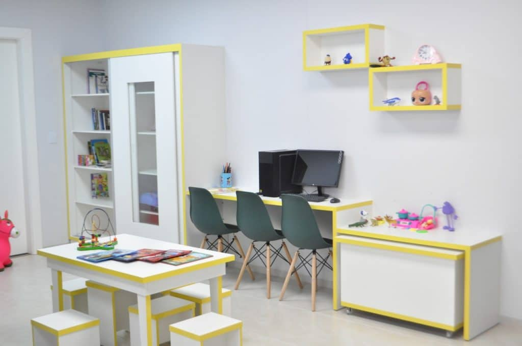 Hospital de Dionísio Cerqueira revitaliza brinquedoteca